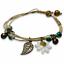 miniature 6 - Bracelet Flower Daisy Beads Girls Ceramic Charm Jewellery Silver Ankle Girls