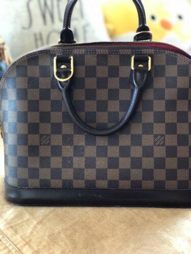 Louis Vuitton Alma MM Bag Monogram No Reserve