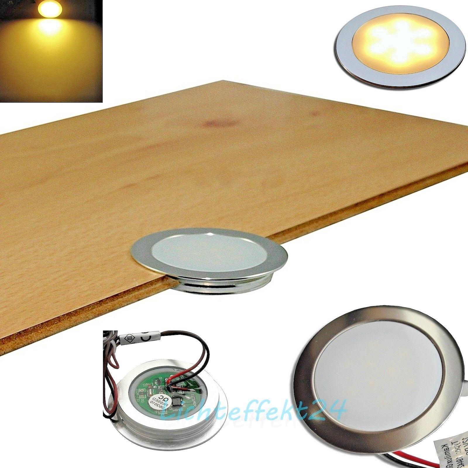 1- 10er Sets extra flache LED Spotstrahler 12V IP67 Feuchtraum Boden Fliesen Bad     | Louis, ausführlich  | Elegante Form  | Guter weltweiter Ruf