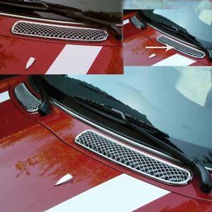Mini-One-Cooper-R50-R53-2001-11-06-R52-03-09-CHROME-Grille-de-Ventilation