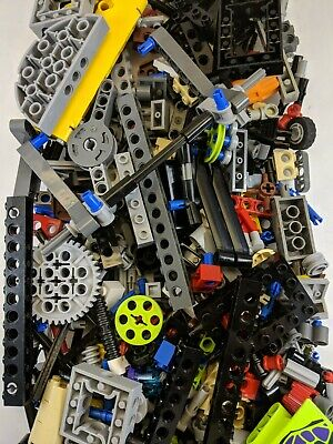 LEGO Bulk lot TECHNIC MINDSTORM PARTS 1//2 lb pound Beams Axles
