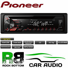 Pioneer DEH-1900UB 4x50 Watt Car Stereo Radio CD MP3 Radio USB AUX Player Red