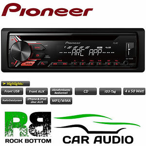 pioneer deh 1900ub 4x50 watt car stereo radio cd mp3 radio. Black Bedroom Furniture Sets. Home Design Ideas