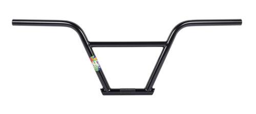 "RANT Nsixty 4pc BARS BMX BIKE BICYCLE 9/""  100/% CHROMOLY SHADOW SUBROSA BLACK NEW"