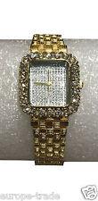 WoMaGe Kings Girl Gold Bracelet Lady Watch Fashion Square Designer Elegance Gift