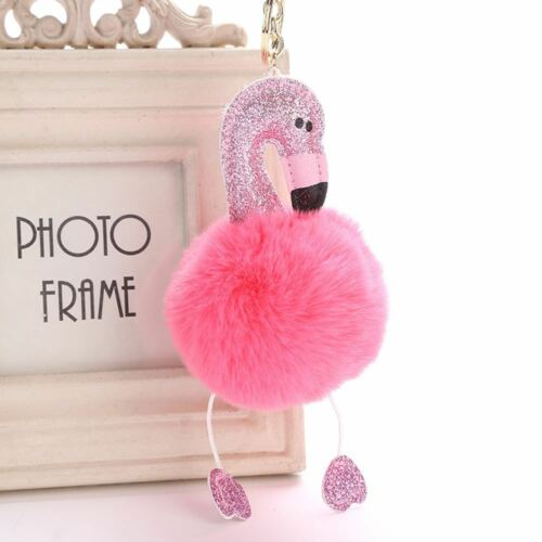 Auto Handtasche Anhänger Mini Gewichtsskala Flamingo Schlüsselbund