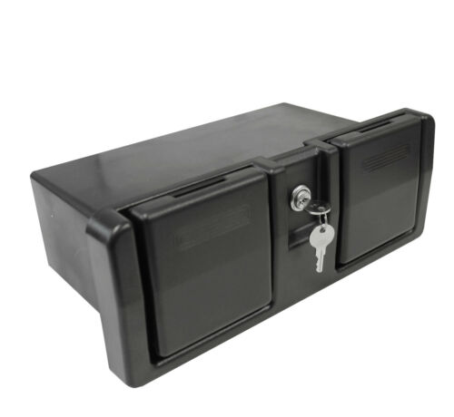 Handschuhfach Staufach abschließbar 2 Becherhalter Stauraum Staukasten für Boote