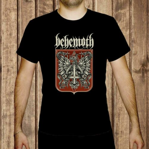 behemoth rzeczpospolita niewierna MEN BLACK t-shirt BAND MUSIC clothing shirt