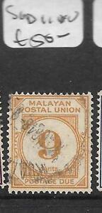 MALAYA MPU (P2403B) POSTAGE DUE 9C SG D11 VFU