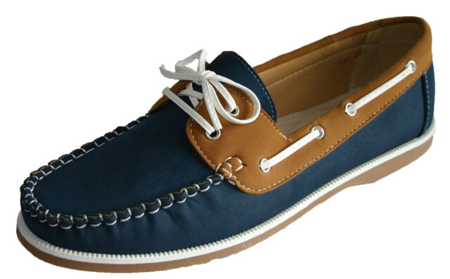Coolers Shoreside Womens Ladies Deck Boat Shoes//Navy Pink Nubuck Look Laced