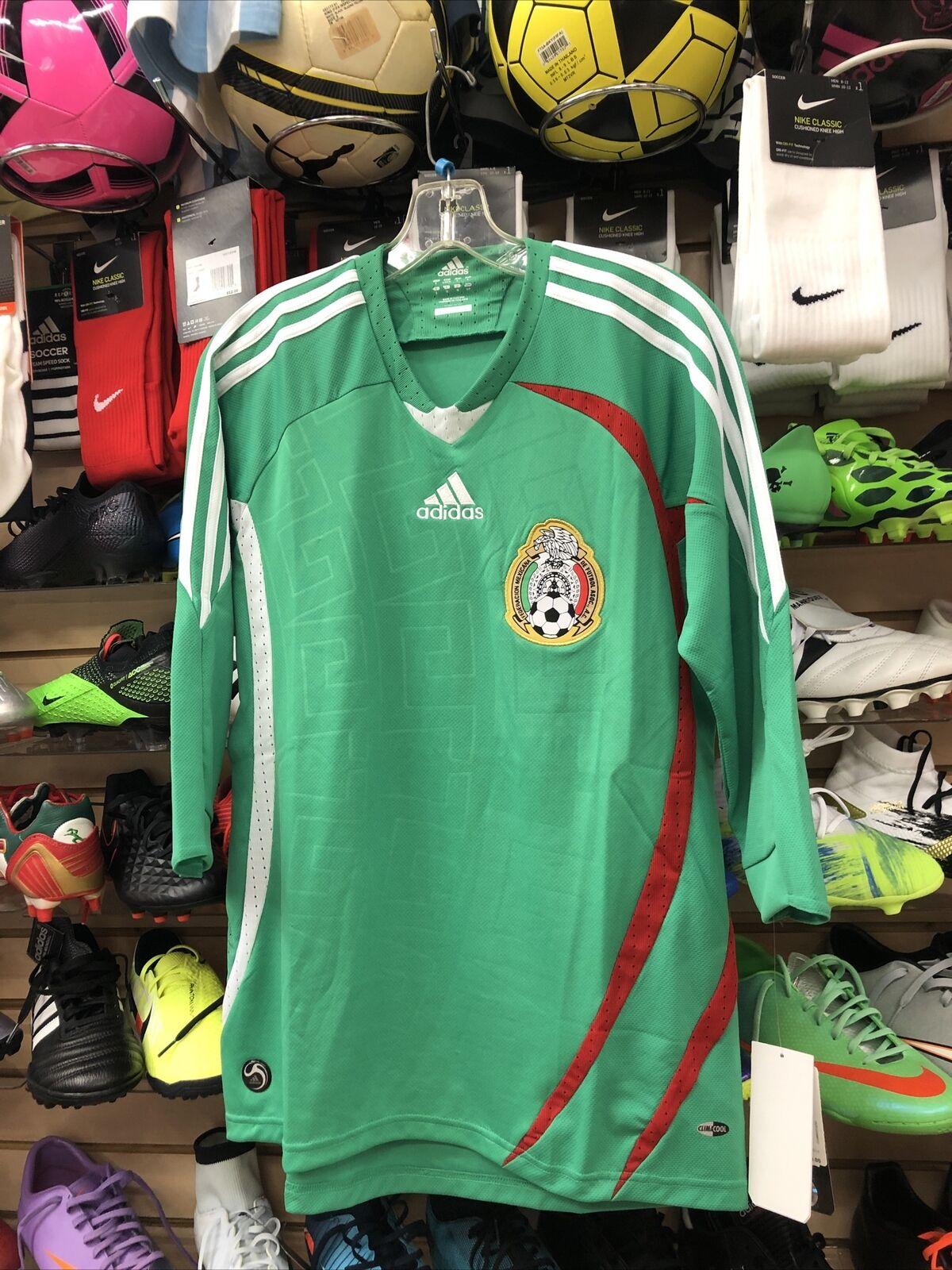 adidas Vintage Mexico FMF Home Soccer Football Futbol Jersey Men's ...