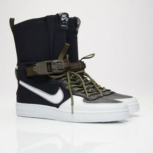 51e9421e3a4aaa NikeLab AF1 Downtown Hi SP x ACRONYM 649941-001 Black White Men ...