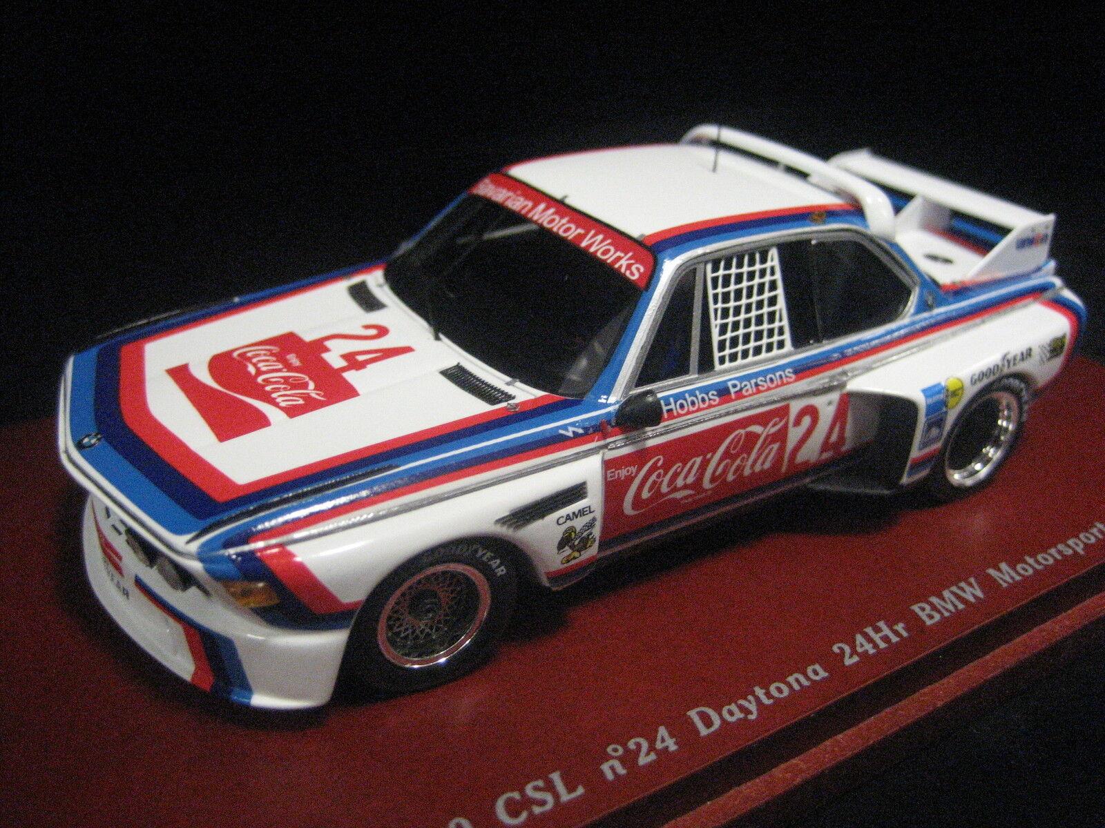 BMW 3,0 CSL 24h Daytona 1976 BMW MOTORSPORTS Coca Cola TrueScale 1 43 NEW