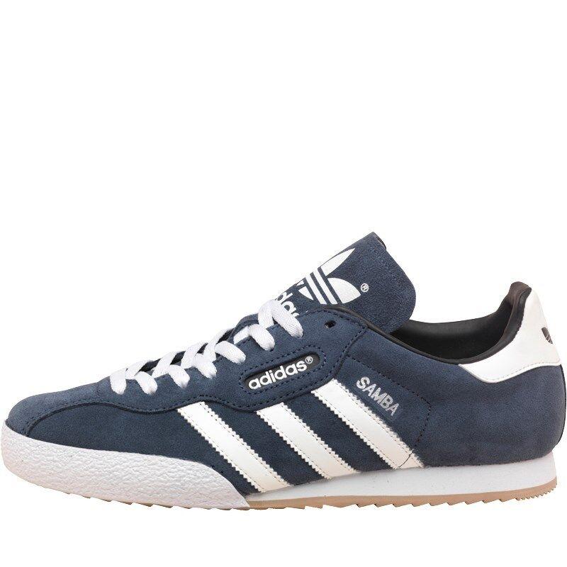 Adidas Para Hombre Samba Super entrenadores, Adidas Originals Gamuza Fútbol- Fútbol- Gamuza b30910