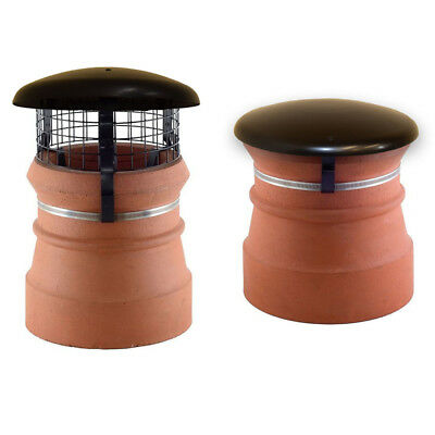 Chimney Pot Cowl Cap Amp Mesh Wood Log Burner Stove