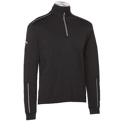 NEW Callaway Mens Long Sleeve 1/4 Zip Mock Golf Jacket S, M, L, XL, 2X, 3X, 4X