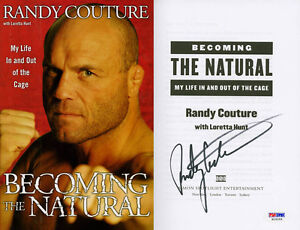 Randy-Couture-SIGNED-Becoming-The-Natural-UFC-1st-PSA-DNA-AUTOGRAPHED