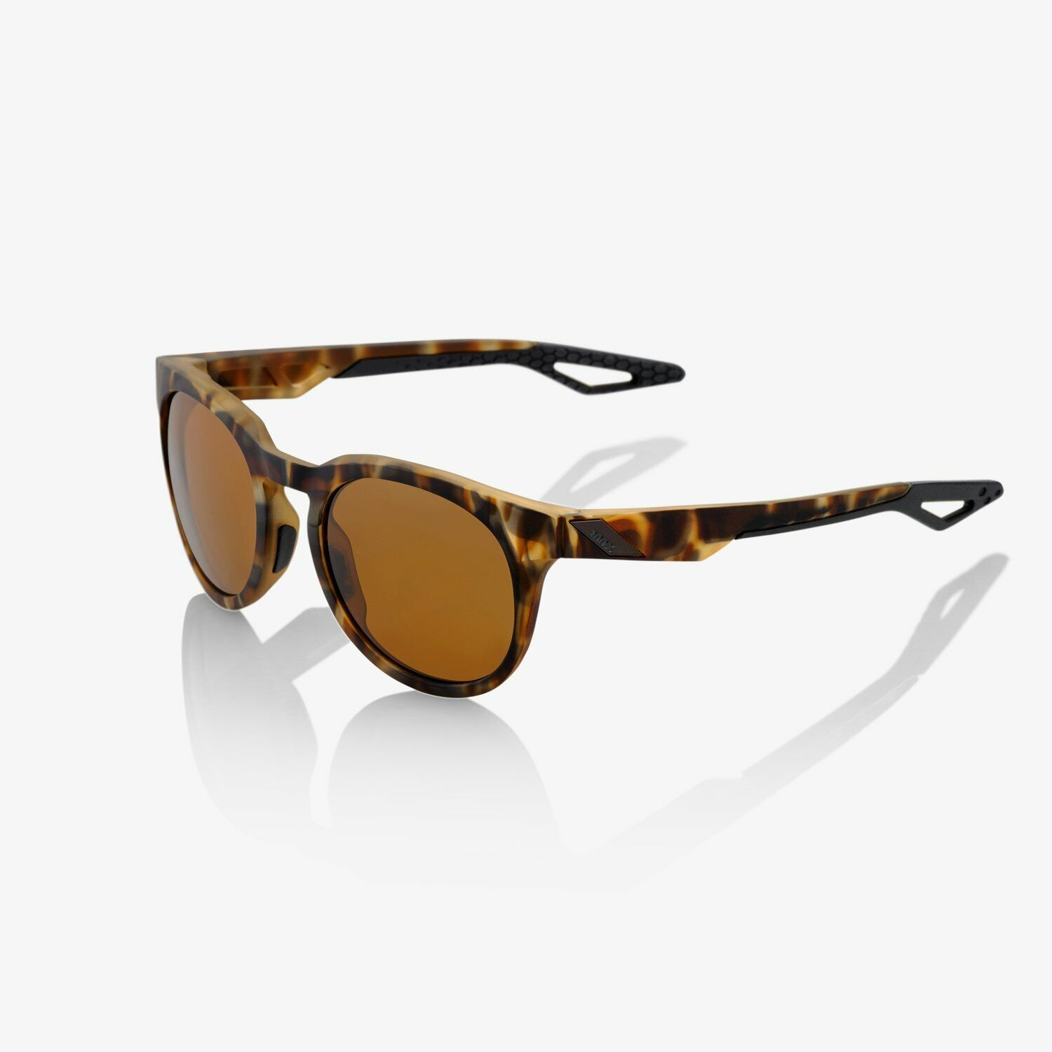 New 100% Campo Sunglasses Havanna Frame Bronze Lens-  Cycling Surfing MX Fishing