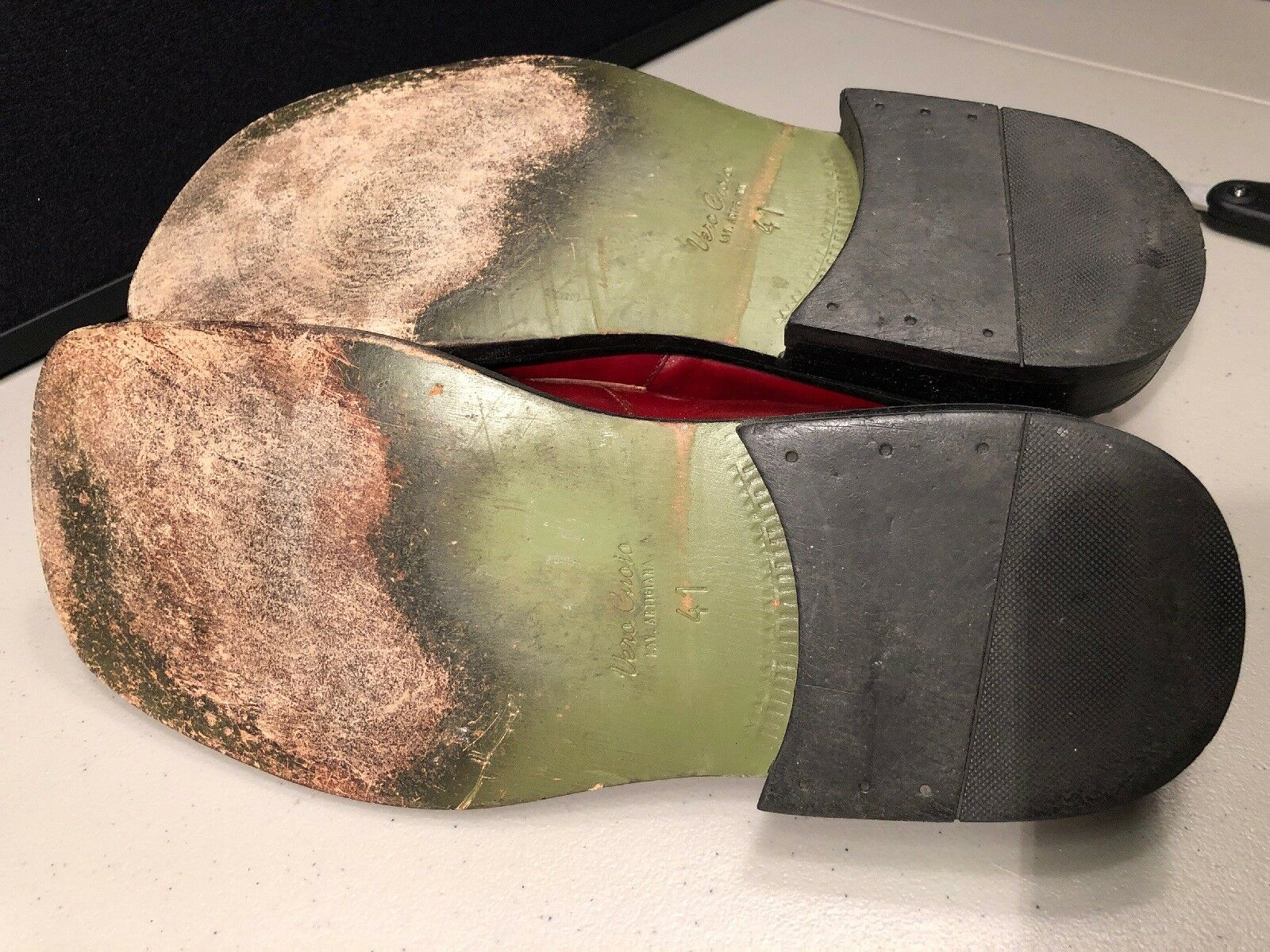 Men's Aldo Vero Cuoio rot rot rot Leather Loafers Größe 41  Größe 8 76d053