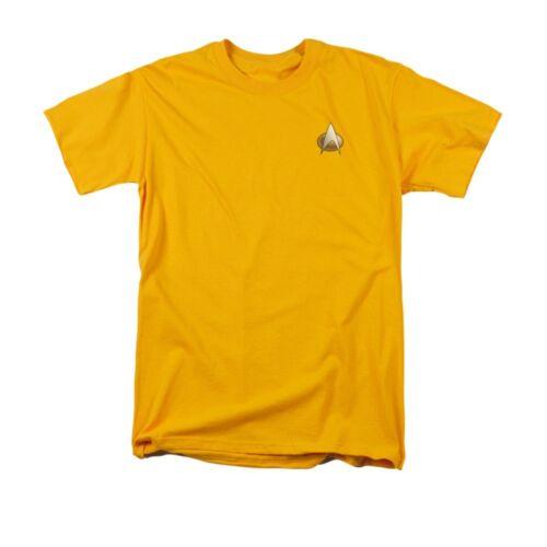 Star Trek Next Generation Engineering Emblem Licensed Adult T-Shirt