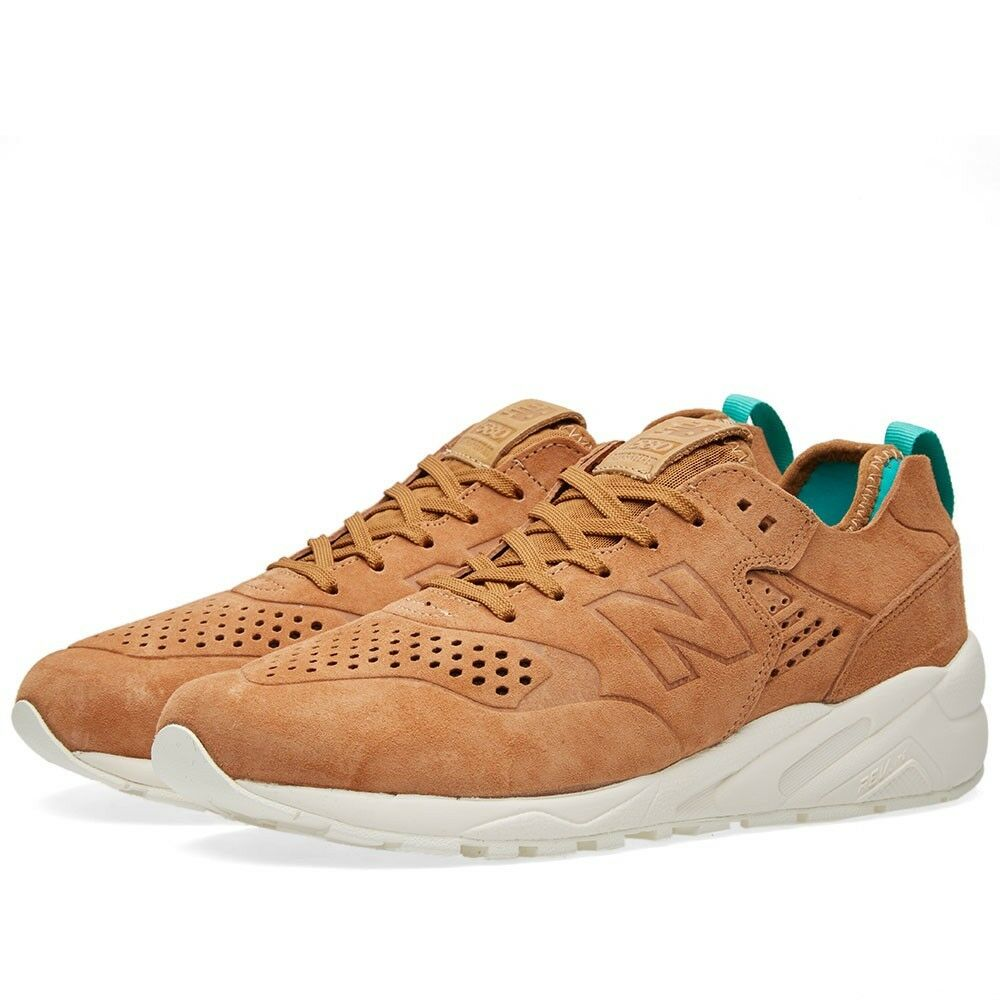 NIB New Balance MENS MRT580DT DECONSTRUCTED TAN SUEDE CLASSIC SNEAKERS 9.5-11.5