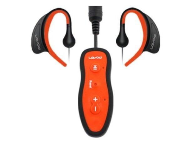 Mejor Impermeable reproductor de MP3 de memoria 4 GB USB Auriculares deporte natación subacuática