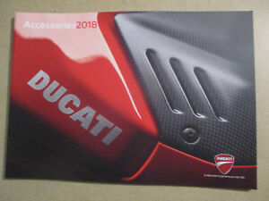 CATALOGUE MOTO : DUCATI : ACCESSORIES 2018 - EN FRANCAIS -  11/2017
