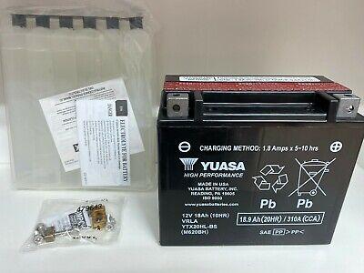 Batteria YUASA YTX20HL-BS senza manutenzione per Buell X1 1200 Buell X1 1200