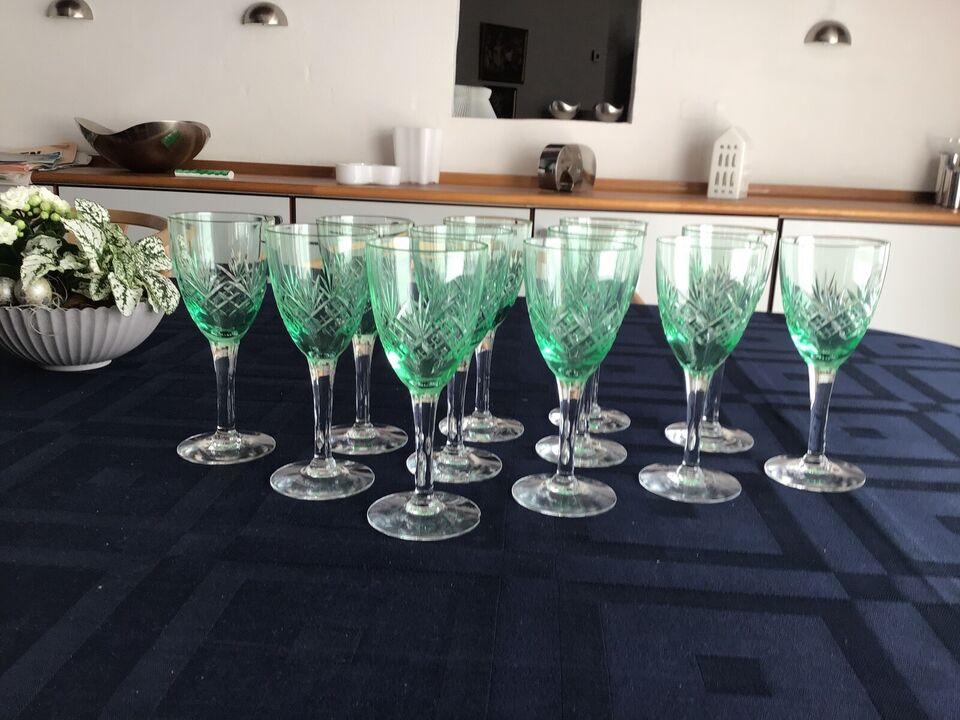 Glas, Grønne hvidvinsglas, Holmegård