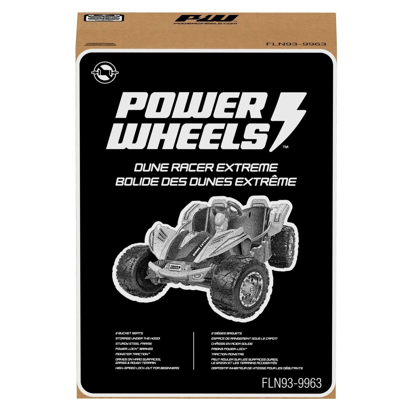 Power Wheels Fln93 Dune Racer Extreme Purple Ride On Vehicle For Sale Online Ebay