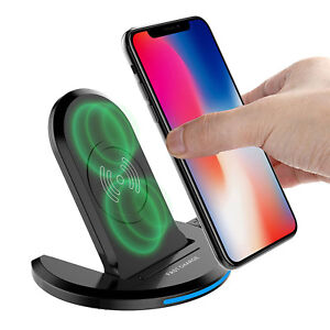 For-Samsung-Galaxy-Note-9-S9-Wireless-Qi-Fast-Charger-Charging-Stand-Dock-Pad