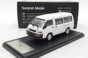 1-43-Mitsubishi-Delica-L300-Van-Bianco-Edizione-Limitata-Modello-Diecast-Auto-Regalo