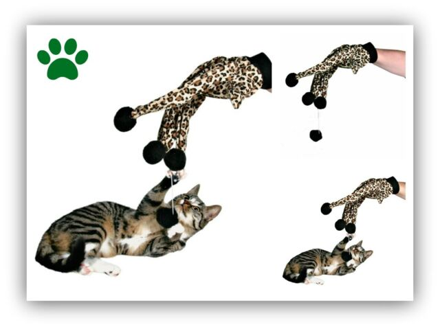 New Kitten Cat Glove Teaser Play Toy For Cats Kittens