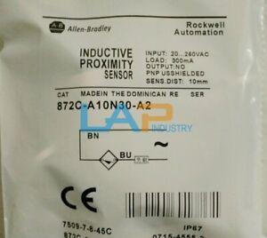 1PCS NEW For Allen Bradley Proximity Switch Sensor 872C-A10N30-A2