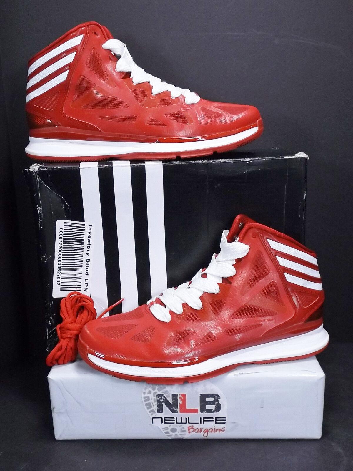 Adidas pazzo ombra 2 scarpe da numero basket g67423 red uomo numero da 12 extra-laces a30b26