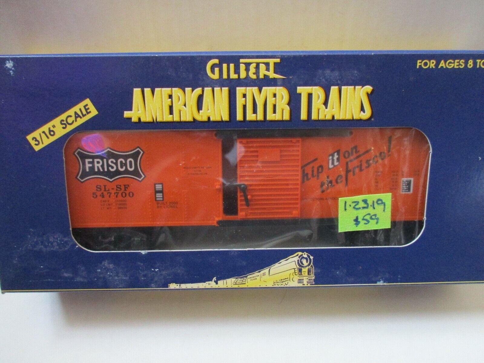 Am Flyer LTI 6-48219 Frisco boxcar (1 23 19)