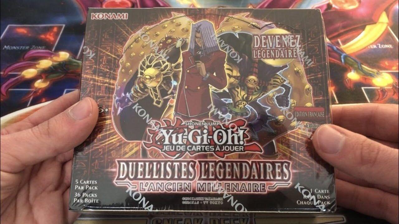 Boîte scellée 36 boosters Yu-Gi-Oh Yu-Gi-Oh Yu-Gi-Oh Duellistes Légendaires   L'ancien millénaire 01d342