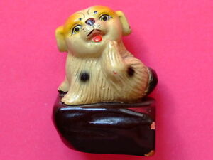 COLLECTABLE OLD CHINA PENCIL SHARPENER CUTE DOG Vintage - Europe, Polska - COLLECTABLE OLD CHINA PENCIL SHARPENER CUTE DOG Vintage - Europe, Polska