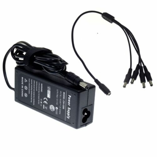 4CH Power Supply for CCTV CCD Camera 4 Port DC+Pigtail