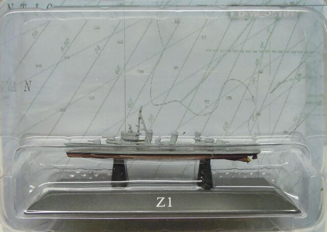 Destroyer Z1, German Navy Class 119, Atlas , 1:1250, Finshed Model, New