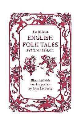 (Very Good)-The Book of English Folk Tales (Hardcover)-Sybil Marshall-0715650106