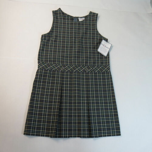 NWT Becky Thatcher Jumper Pleated Dress School Uniform Color 44