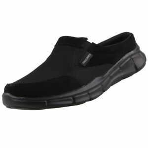 Detalles de Nuevo Skechers Zapatos Hombre Calzado Sandalias Zuecos Mocasines