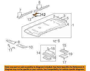 Honda Genuine 83240-SDA-A01ZA Grab Rail Assembly