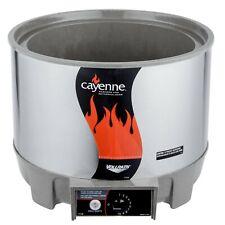 Vollrath 72021 11 Qt Round Heat N Serve Soup Warmer 120v 800w