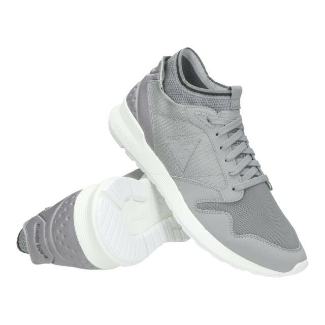 e75a11267c7e LE COQ SPORTIF OMICRON TRIPLE REFLECTIVE TRAINERS 1720066 GREY UK MENS SIZE  5