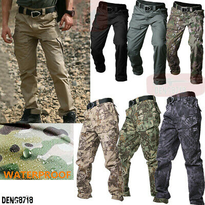 Men's Combat Shorts Army Outdoor Military Tactical Cargo Pants Casual Waterproof