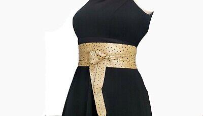 Obi Belt Woman Leather Sashes Designers Belts Handmade Belts Wide Waist Belt Elastic Waist Leather Belt Evening Dress Belts