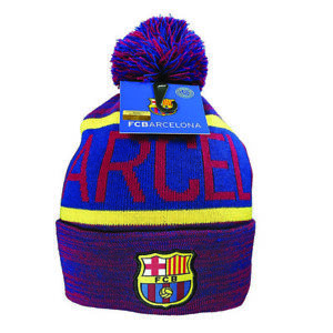 a546b07f6f9 FC Barcelona Beanie Pom Cap Hat Winter New Season Lionel Messi 10