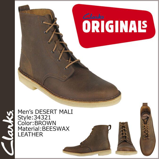 Clarks Originals Da Uomo Boot ** X Deserto Mali Boot Uomo ** CERA D'API LEA ** /US 12 G 2f42cf